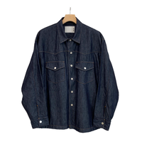 C/Si DENIM WESTERN OVER SHIRT JKT