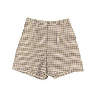WASHABLE C/PL CHECK EASY SHORTS