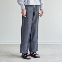 5/3 TWILL DENIM FRONT ZIP EASY PANTS