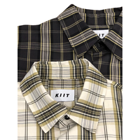 LI/C HIGHCOUNT CHECK S/SLEEVE SHIRT
