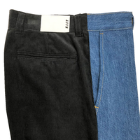 12.5oz DENIM × CORDUROY COMBINATION PANTS