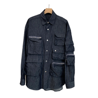 C/Si DENIM MULTI POCKETS SHIRT JKT