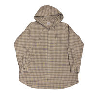 WASHABLE C/PL CHECK HOODIE SHIRT