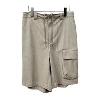 SUEDE CLOTH SHORTS