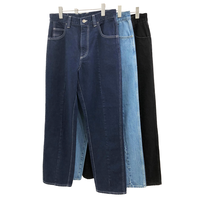 12.5oz DENIM BACK ZIP 5P PANTS