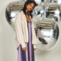 R/C GRADATION PRINT DRESS