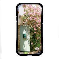 フランスの美しい村 耐衝撃グリップスマホケース【iPhone Max,Plus系】