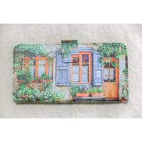 フランスの美しい村 手帳型スマホケース【Android用】