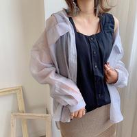 Square neck camisole
