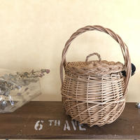 Covered basket small