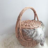 Covered  basket  big