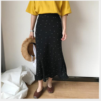 【ladies】Dot  skirt
