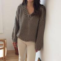 【ladies】ZAKKURI  knit
