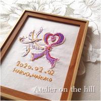 セレブレーション刺繍 「祝 iwai」