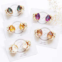 ★2019 A/W New Color★SWAROVSKI®・Crystals Bijoux Pierce - Drop-