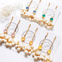 ★2020 S/S NEW COLOR★Bubble Pearl Pierce