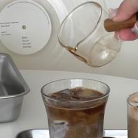 wood mini cup