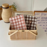 gingham check 2color