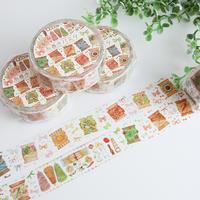 ぐるぐる糸巻きパスタ☆マスキングテープ