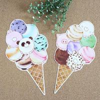 アイスクリーム♡変形ポストカード