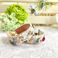 『紫陽花と蝶のブレスレット』キット
