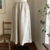 クロワッサンパンツ linen ツイル ②色