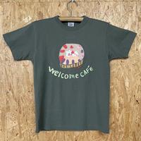 一点モノTシャツ-ストロベリーカラーケーキ