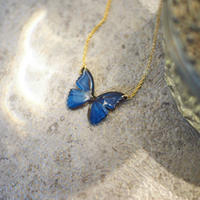VERY OCEAN BLUE [Necklace/ 14KGF]