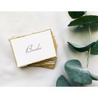 席札|エスコートカード ‖ vintage name card 10枚1セット
