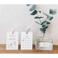 席次表&エスコートカード‖2枚組or両面| Wedding card 10枚1セット