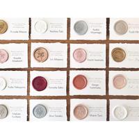 席札|Wax Seal|シーリングワックスシール付き 10枚1セット  (カード専用ページ)