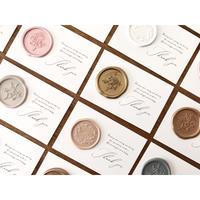 サンキュータグ・メッセージカード|Wax Seal|シーリングワックスシール用カード / 10枚1セット