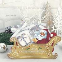 アンティークサンタのクリスマスBOX
