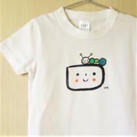 手描きTシャツ(こども)名入れ可  〈むしくん〉