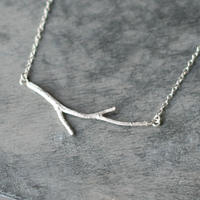 sv925 小枝のネックレス