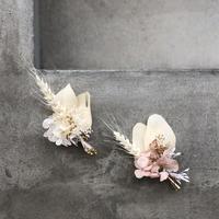 コサージュ:  bouquet