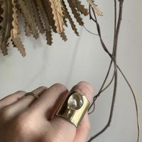 PORTE BONHEUR  - quartz sash  ring-