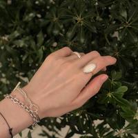 PORTE BONHEUR  - opal  ring -  A
