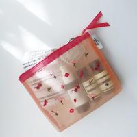 刺繍 チュールポーチ