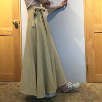 花屋の作る洋服  =long skirt= beige