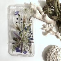 オーダー : 押し花case iPhone plus &その他 (クリア)