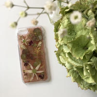 オーダー:押し花case   iPhone6/7/8/X /XS/SE (カラー)