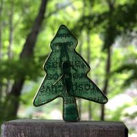 もみの木イメージのブローチ