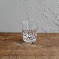 antiques クリスタルガラス ロックグラス