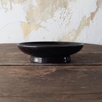 antiques 漆器 日の丸 椿皿