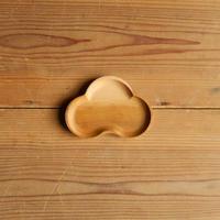 四十沢木材工芸  桜小皿 まつ size S