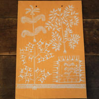 antiques ワルリー画 Orange
