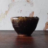 鶴野啓司  鉄釉深鉢