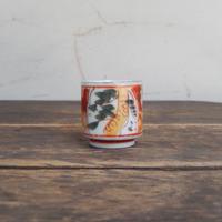 antiques 色絵 猪口