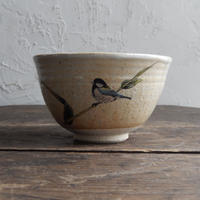 antiques 中村陶志人  風九谷茶碗(新古品)